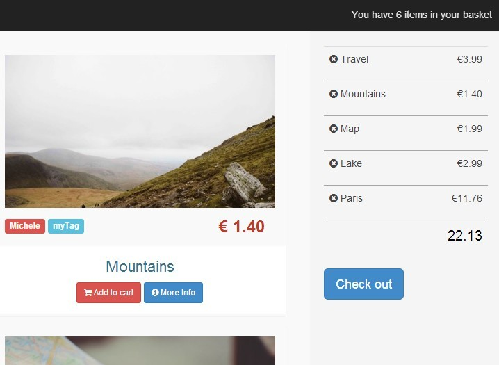 Responsive E-commerce Shopping Cart Plugin with jQuery - Shopping Mall
