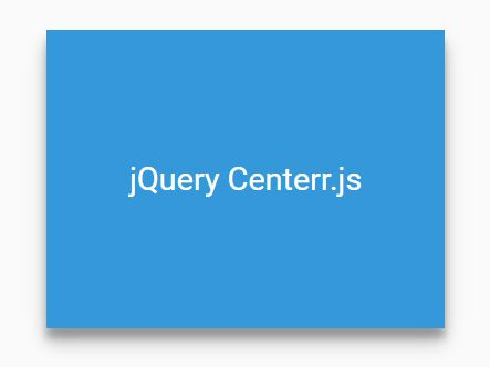 Responsive Element C<font color='red'>Enterin</font>g Plugin With jQuery - Centerr.js