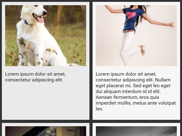 Responsive Equal Height Grid Layout Plugin For jQuery - Wrecker