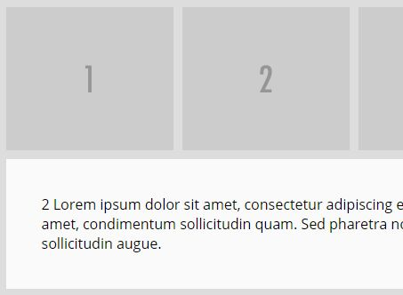 Responsive Expanding Grid / Tab Layout Plugin For jQuery - Gridtab