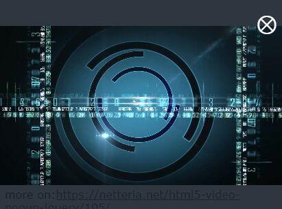 jQuery video Plugins | jQuery Script