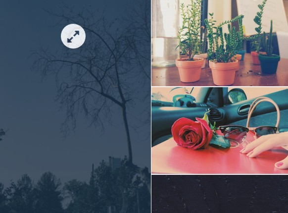 Responsive Image Grid with jQuery and Bootstrap