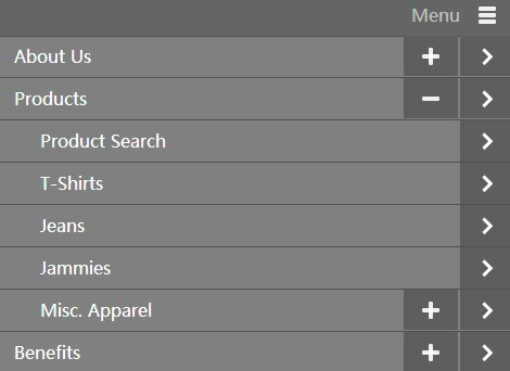 Responsive & Mobile-Aware jQuery Dropdown Navigation Plugin - responsiveNav