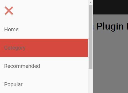 Responsive Mobile Navigation Plugin With jQuery - Adaptive Menu