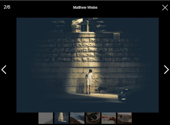 Responsive Mobile-first Image Viewer - jQuery SmartPhoto