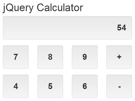 Responsive & Mobile-friendly jQuery Calculator Plugin