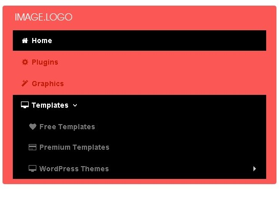 Responsive Multi Level Navigation with CSS3 Transitions - BootM