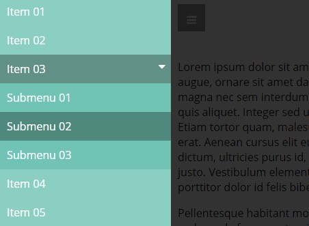 Responsive Multilevel Dropdown Menu with jQuery and CSS3