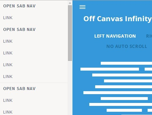 Responsive Off-Canvas Push Menu Plugin with jQuery