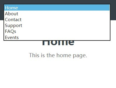Responsive Select Based Mobile Menu with jQuery and CSS3