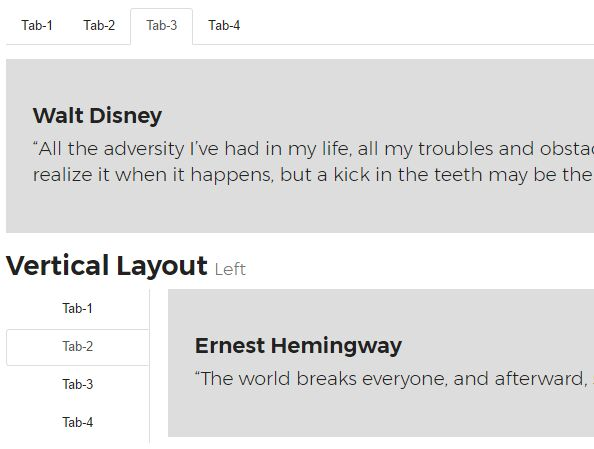 Small Responsive Tabs Plugin For jQuery - daTabs