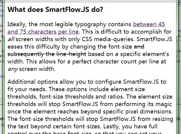 Responsive Text Auto-reszing Plugin with jQuery - smartflow