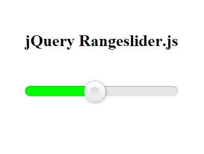 Responsive & Touch-Friendly jQuery Range Slider Plugin