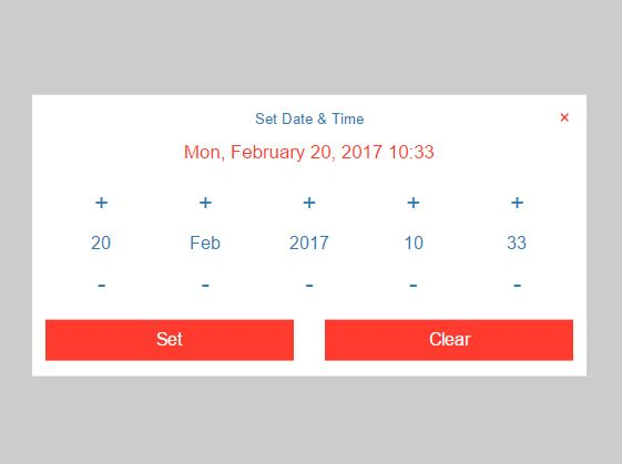 Responsive User-friendly Datetime Picker For jQuery - DateTimePicker