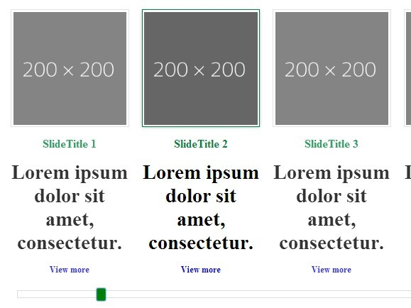 Tiny jQuery Content Slider/Scroller with Scrolling Navigation - sliderFlow