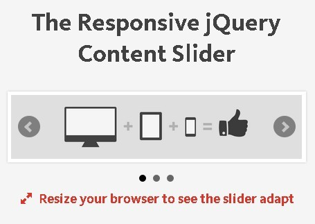 Responsive jQuery Content Slider with Animation - bxslider