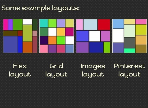 Responsive jQuery Dynamic Grid Layouts Plugin - Freewall