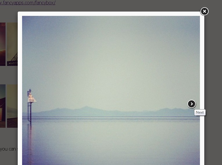 Responsive jquery lightbox with amazing css3 effects for Lightbox div