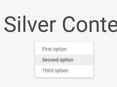 Basic Right Click Menu Plugin For jQuery - Silver Context Menu