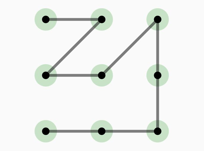 SVG Based Pattern Lock Library - pattern-lock-js
