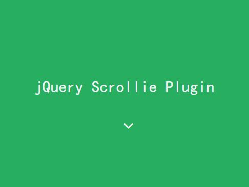 Easy Scroll Into View Plugin For jQuery - Scrollie
