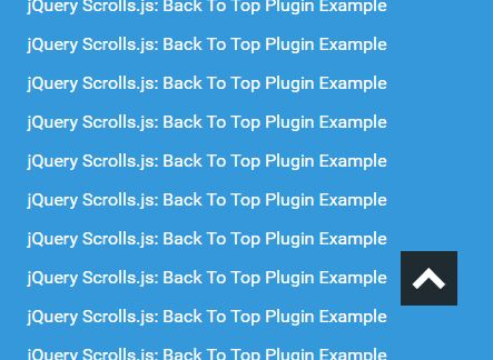Smooth Scroll To Top Plugin For jQuery - Scrolls.js