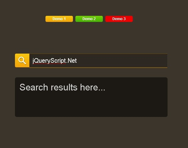 SearchMeme - On-demand Search Box Plugin For jQuery