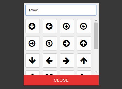 Feature-rich Font Icon Picker Plugin For jQuery