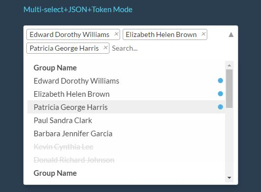 Searchable Multi-select Dropdown Plugin With jQuery