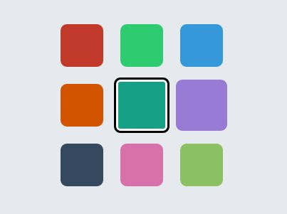 Select Box Based Color Picker Plugin With JQuery