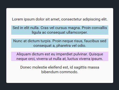 Select Multiple Paragraphs With jQuery - multiSelPar.js