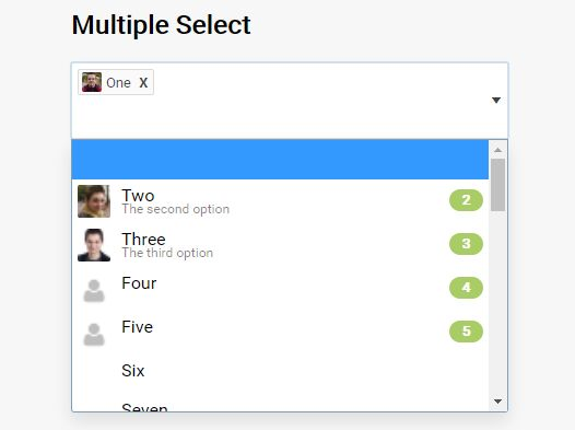 Multifunctional Select Replacement Plugin For jQuery - Selectator