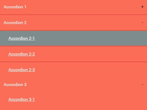 Semantic Multi-level Accordion Plugin With jQuery And CSS3
