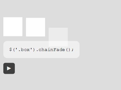 jQuery Plugin For Sequential Entrance Animations - chain-fade