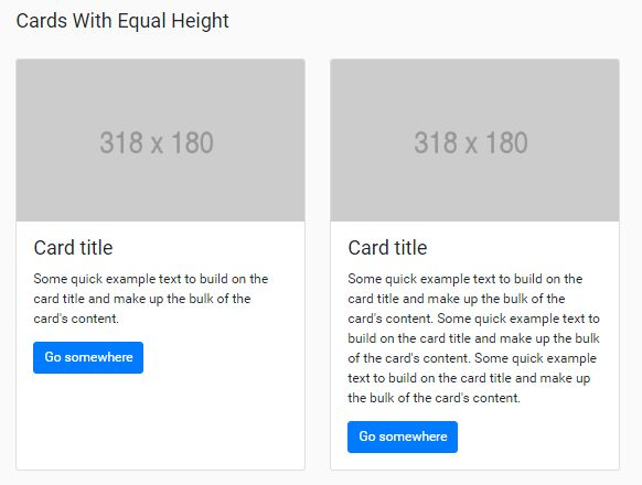 Set Sibling Elements To The Same Height - jQuery equal-height.js