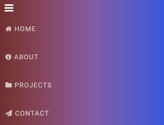 Minimalist Sidebar Navigation With jQuery And Font Awesome