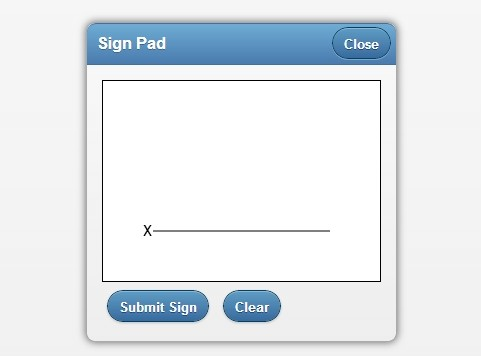 Simpe Mobile Signature Pad with jQuery and Html5 Canvas