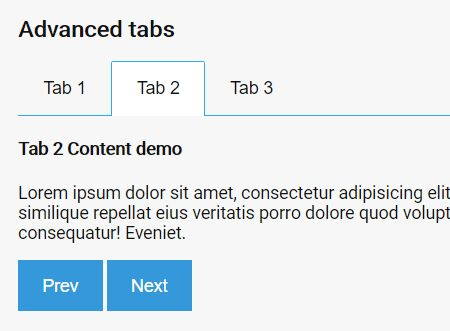 Simple Accessible jQuery Tabs Plugin - tabs.js