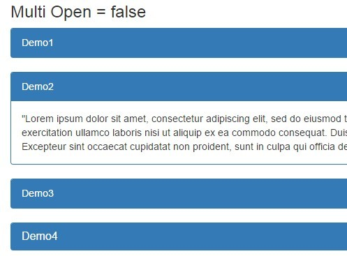 Simple Accordion Plugin For jQuery and Bootstrap | Free