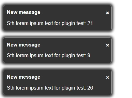 Simple Alert Box Plugin with jQuery - Lite Alert