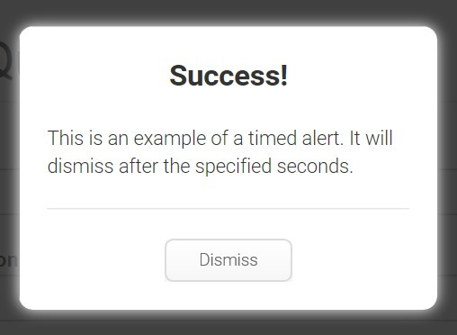 Simple Alert Dialog Box Plugin For jQuery - al.js