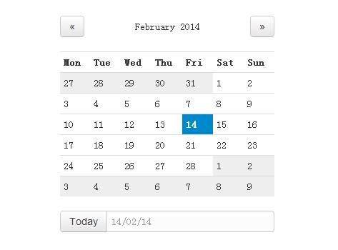Jquery Scheduler Calendar Animated Jquery Calendar