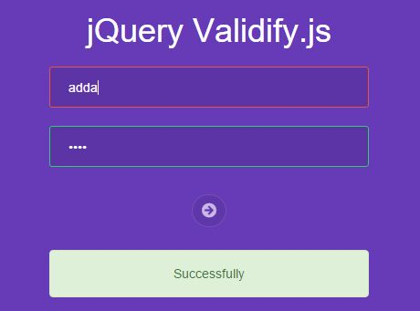 Simple Automatic Form Validation Plugin with jQuery - Validify.js