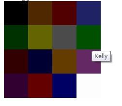 Simple Color Picker Plugin - colo<font color='red'>rse</font>lector