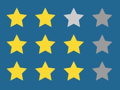 Simple Cross-browser jQuery Star Feedback / Rating Plugin - StarWarsJS