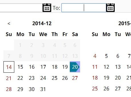 Simple Date & Date Range Picker with jQuery and Moment.js