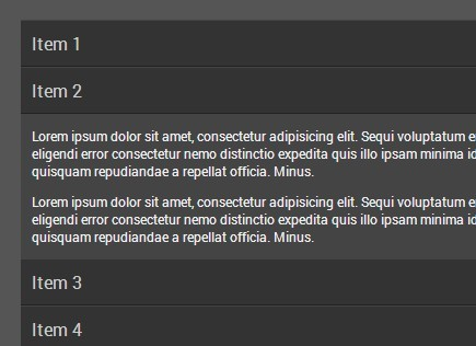 Simple and Fast Accordion Plugin with jQuery