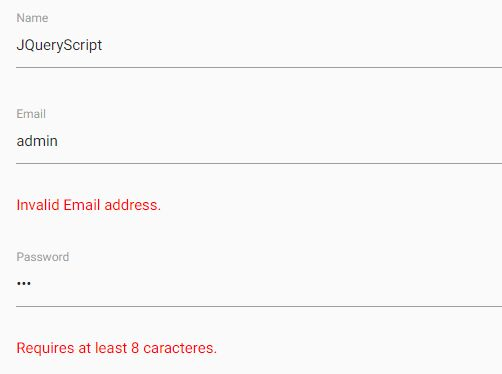 Simple Fast Form Validation Plugin For jQuery - jqueryValidate ...