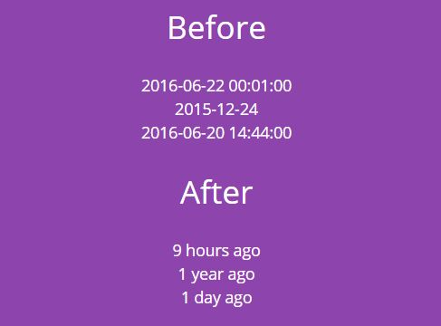 Simple Flexible Relative Date/Time Plugin With jQuery - liveTimeAgo.js