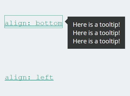Simple Flexible jQuery Tooltip Plugin For jQuery - Cooltip.js